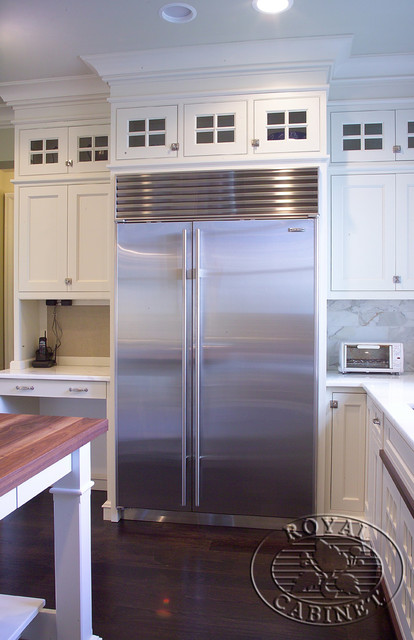 Royal Cabinet Company: Cucina Bianca - Traditional - Kitchen - new york - by Royal Cabinet ...