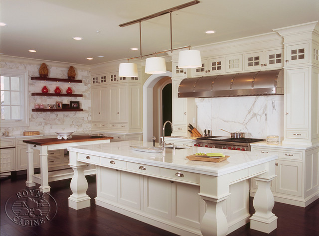 Royal Cabinet Company: Cucina Bianca traditional kitchen