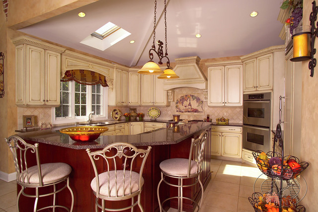 Http Www Houzz Com Au Photos 511049 Royal Cabinet Company Old World Influence Mediterranean Kitchen Other Metro