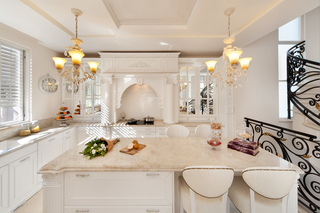 Royal house in the village - American Traditional - Kitchen - Other ...