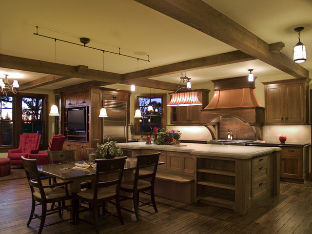 Royal Oaks Design, Inc. traditional-kitchen