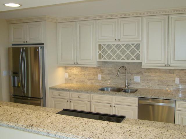 royal oyster marble kitchen backsplash