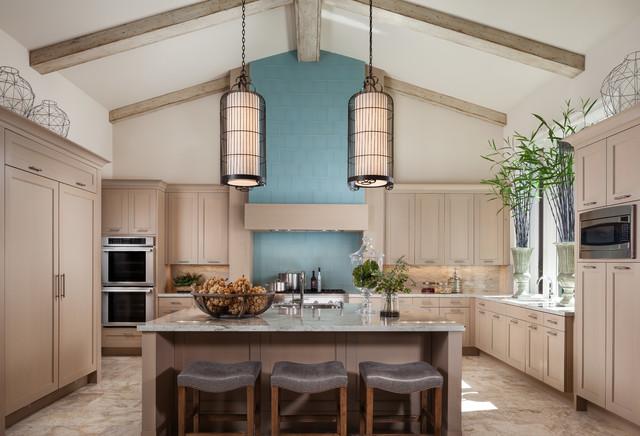 Royalton Model - Old Palm Golf Club - Transitional - Kitchen - Miami - by Courchene Development Corp
