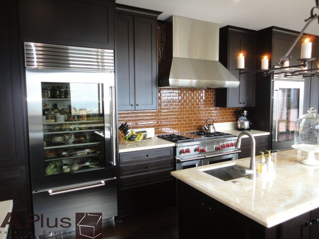 Rubie  Modern  Kitchen  orange county  by APlus Interior Design