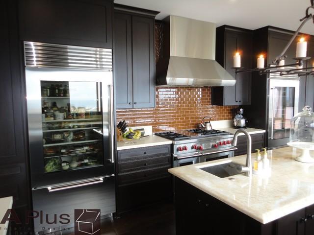 Rubie Modern Kitchen Orange County By Aplus Interior Design Remodeling
