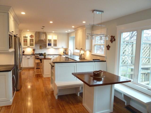 Ruby Lace Renovation traditional-kitchen
