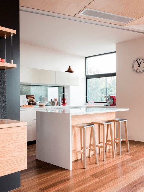 Rucker S Hill House Contemporary Kitchen Melbourne