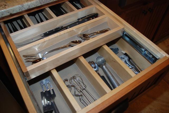 rudd kitchen traditional kitchen other by creekside cabinets : organizer drawer showplace kitchen convenience accessories