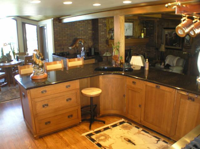 Rue de Trust traditional-kitchen