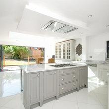 Ruislip  HA4 bespoke handmade kitchen and walk in-pantry