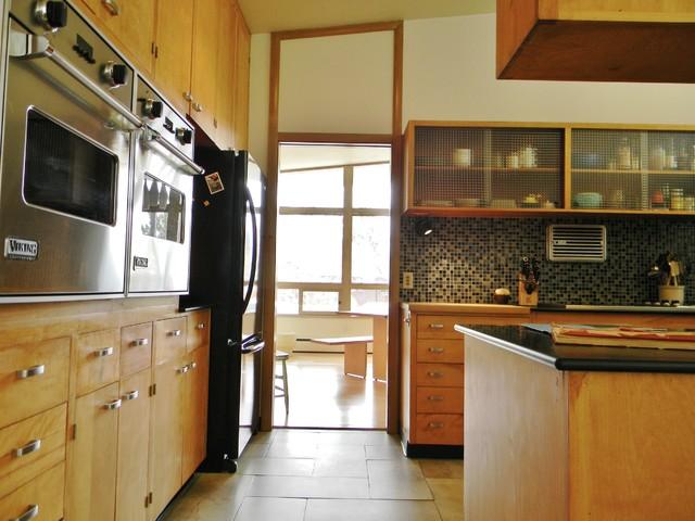 enchanting rural mid century modern midcentury bedroom seattle   Rural Mid-Century Modern - Midcentury - Kitchen - Seattle ...