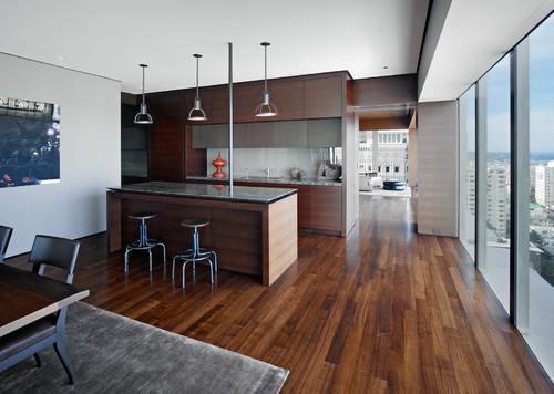 ウォールナット床と家具の色の組合わせ5パターン Amp インテリア30選