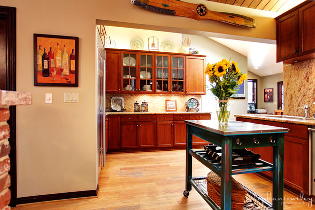 Rustic & Charming eclectic-kitchen