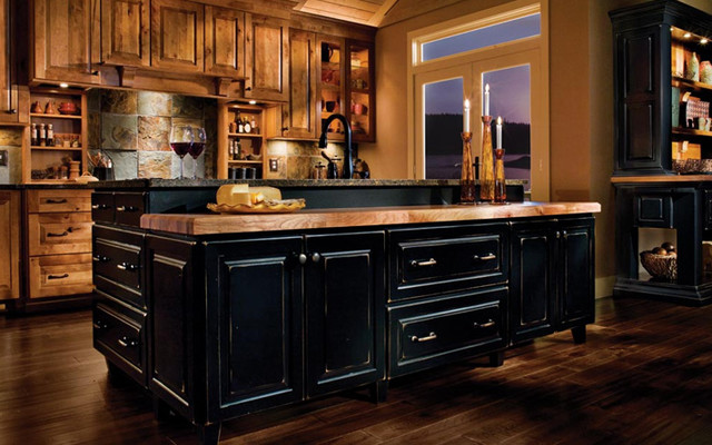 black rustic kitchen cabinets rustic bathroom rustic kitchens barndominiums 12433