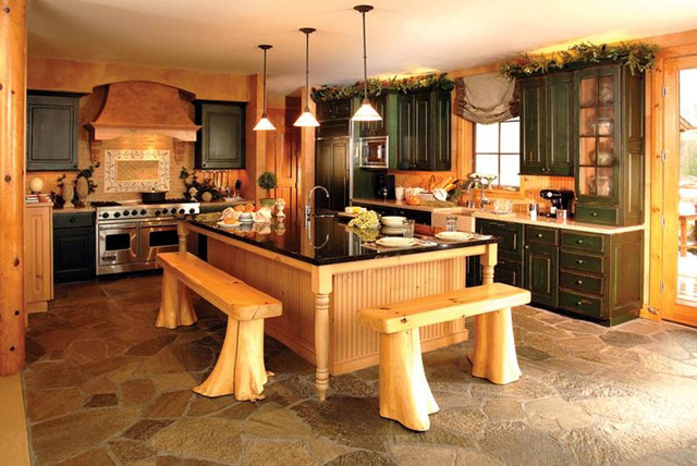 Rustic bathroom, rustic kitchens, barndominiums rustic-kitchen