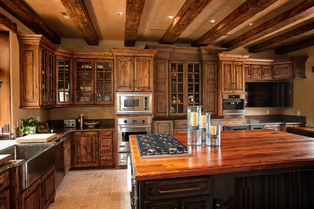 Rustic Beams Cabinets Custom Wood