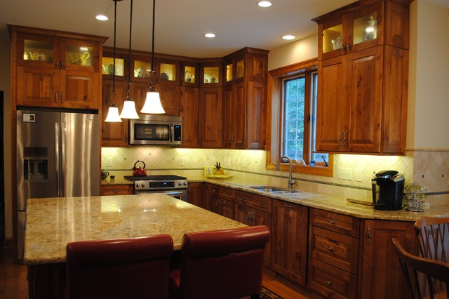 Rustic Birch Kitchen - Rustic - Kitchen - Philadelphia - by Sterling ...