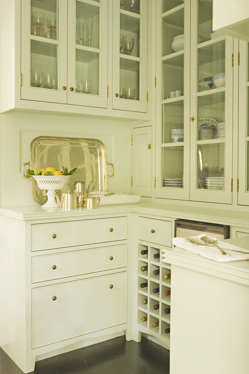 transitional kitchen Call in the Brass: The Latest in Kitchen Hardware