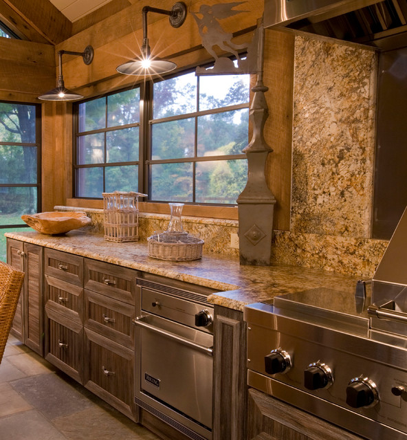 Rustic Casual Rustic Kitchen Dc Metro By Interior Concepts Inc