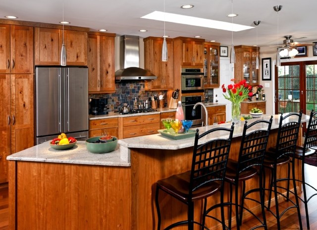 Rustic Cherry Cabinetry