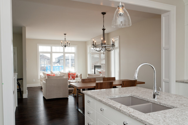 Rustic Chic Bungalow contemporary-kitchen