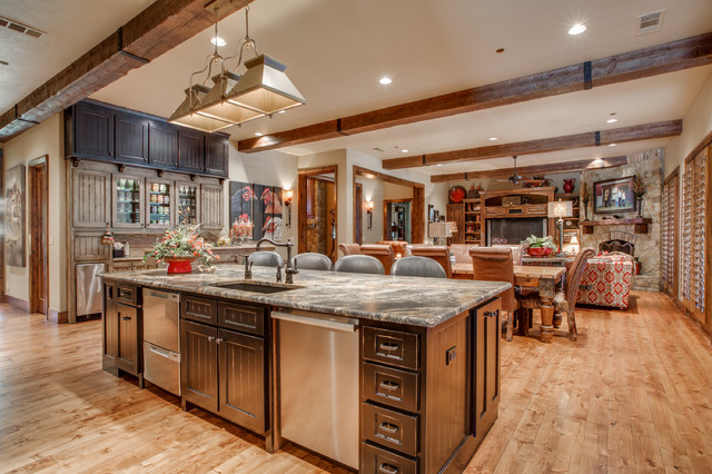 Rustic Chic Kitchen : Rustic Chic Remodel - Rustic - Kitchen - dallas - by Designs by K