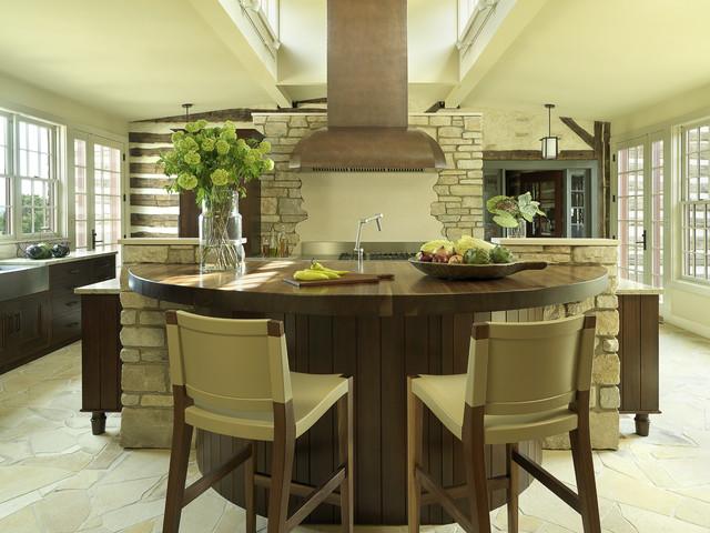 Rustic Contemporary contemporary-kitchen