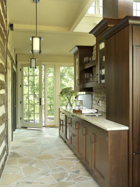 what is best flooring for kitchen rustic contemporary contemporary kitchen st louis 9644