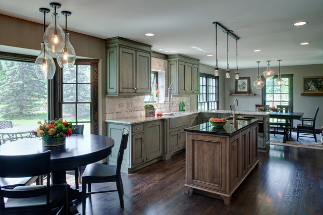 Rustic Contemporary In Lake Barrington Transitional