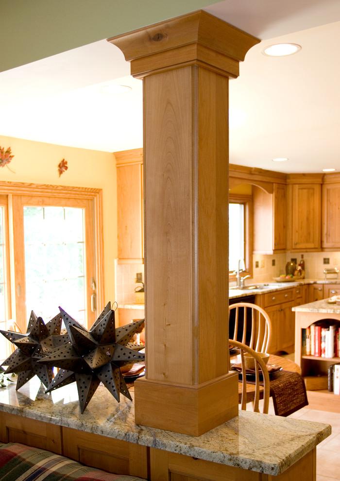 Rustic Contemporary Kitchen in Barrington
