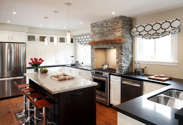 Rustic Contemporary Contemporary Kitchen Toronto By Refined By Design