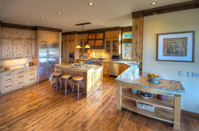 Rustic Contemporary Remodel rustic-kitchen