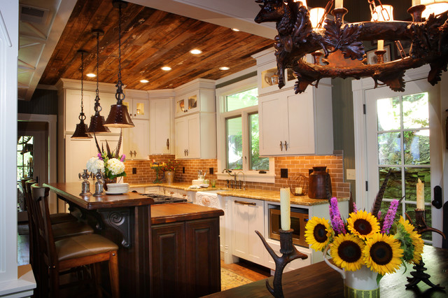 Rustic Cottage Renovation Reclaimed Wood Ceilings St