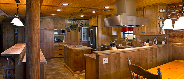 Country Home Rustic Kitchen New Orleans By Top S Appliances