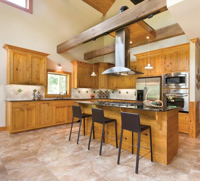 Rustic Cypress Kitchen