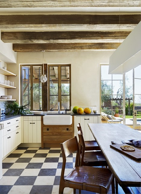 Rustic Eclectic Farmhouse - Mediterranean - Kitchen - phoenix - by ...