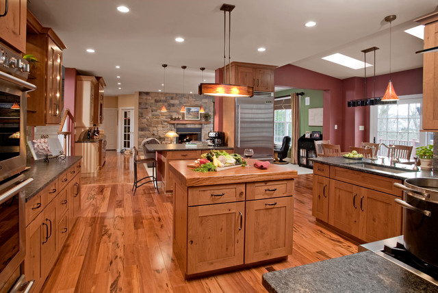 Rustic Eclecticism Kitchen Remodel: Chester Springs, PA eclectic-kitchen