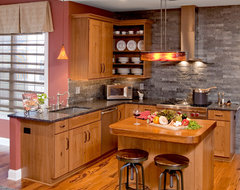 Rustic Eclecticism Kitchen Remodel: Chester Springs, PA eclectic kitchen