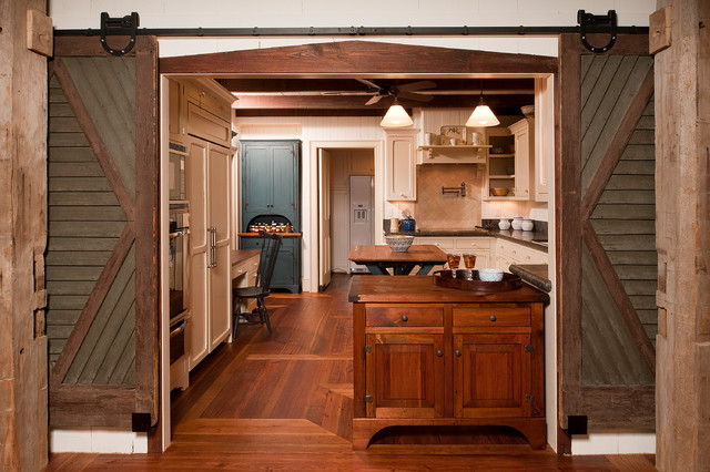 Rustic Elegance - Durham, NC - Farmhouse - Kitchen ... on Rustic Farmhouse Kitchen  id=28878