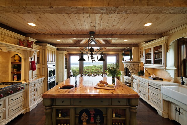 Rustic elegance kitchen rustic kitchen chicago by for Rustic elegance interior design