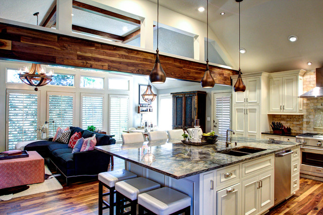 Rustic Elegant Kitchen Amp Hearth Space Rustic Kitchen