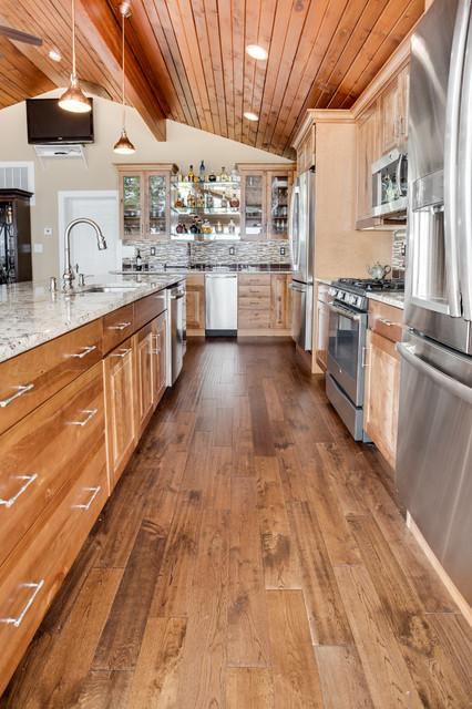 Rustic Elegant Kitchen Remodel Arnold Md Rustic