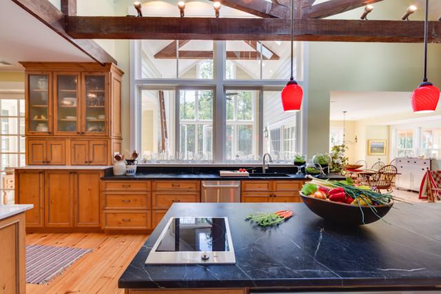 Rustic Elegant Knotty Alder Kitchen Rustic Kitchen Other Metro By Reico Kitchen Bath