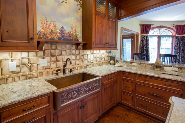 Rustic European Kitchen Traditional Kitchen Cleveland By Laura Gills An Interior Design