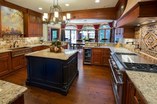 Rustic european kitchen traditional kitchen for European design firms