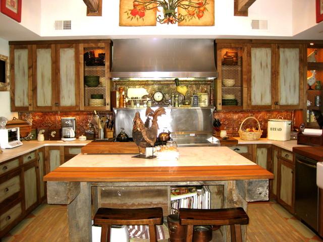 Rustic Farm Kitchen : Rustic Farmhouse -kitchen
