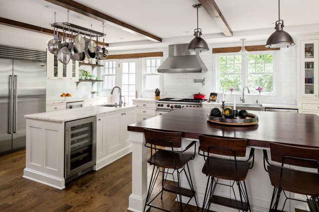 Rustic Farmhouse Whole House Remodel Farmhouse Kitchen Milwaukee By Bartelt The