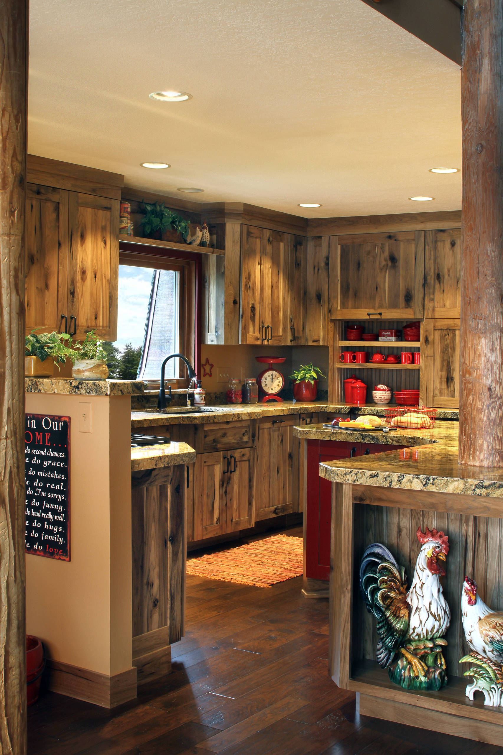 Hickory Kitchen Cabinets Houzz