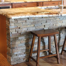 Rustic Finishes Reveal Hidden Storage Solutions