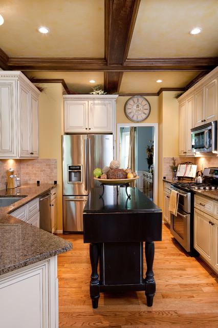 Rustic Gourmet European Dream Kitchen Mediterranean Kitchen Atlanta By Beauti Faux Finishes